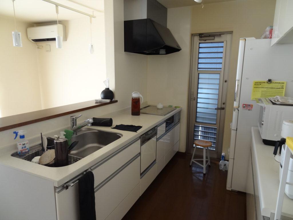食洗器付きカウンターキッチン