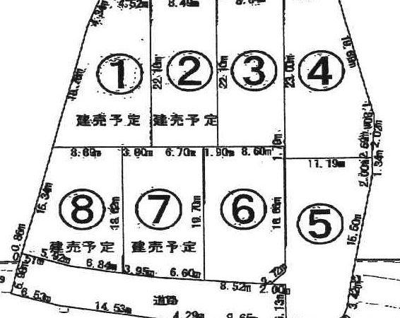 13581、13582、13583、13584 可児市瀬田③④⑤⑥